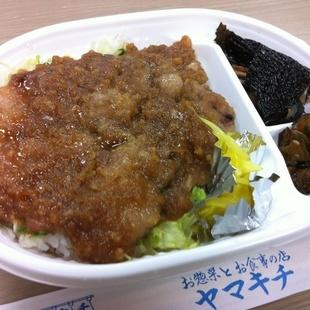 ヤマキチではお弁当もつくります♪舞米豚のみ...