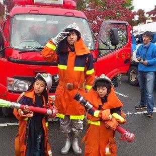 将来の夢は消防士。ではなく消防団員。