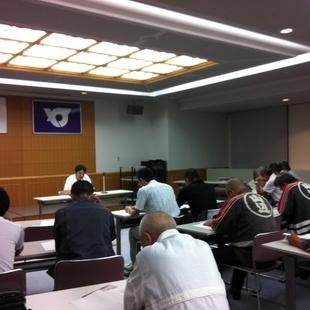 役場大会議室様々な会議が行われます。