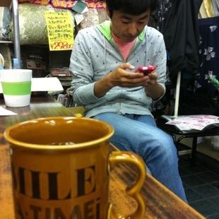 俺達のcaf 石沢布団店で一服♪お茶飲み話...