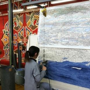 山辺が山形が日本が世界に誇る絨毯メーカー